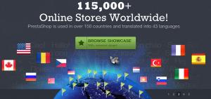 PrestaShop online stores