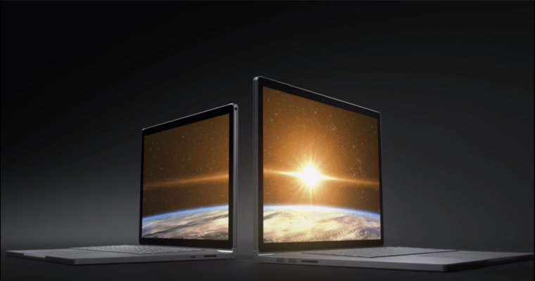 The New Apple MacBook Pro...? Nope, even though the voice-over reminiscent of Jonathan Ive's style may suggest that, it's a Microsoft Surface Pro.